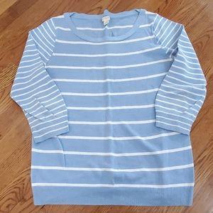 J. Crew size Medium linen/cotton sweater